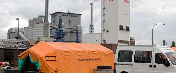 Tag der offenen Tür am Weserwehr in Bremen-Hastedt