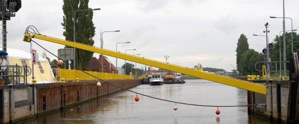 Schleusensicherheit am Weserwehr in Bremen