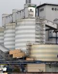 Kohlesilo Nummer 4 des swb Kraftwerk in Bremen Hastedt wird saniert