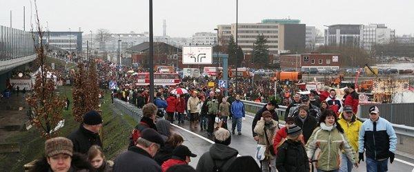A 281 Tag der offenen Autobahn (27-01-2008)