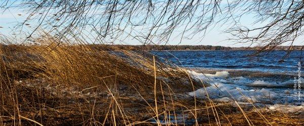 Bad Zwischenahn am Zwischenahner Meer im winterlichen März 2013