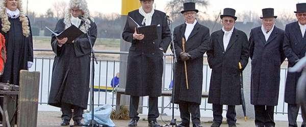 Bremer Eiswette am Osterdeich - 06-01-2008