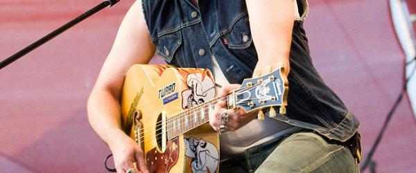 The BossHoss Live on Stage bei der Haake-Beck BadeinselRegatta 2009 in Bremen am Café Sand