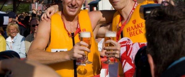 Haake-Beck BadeinselRegatta 2009 - Das Rennen & Siegerehrung (25/07/2009)