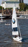 BWM Segelschiff in Hamburg