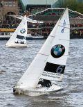 BMW Sail Cup auf der Elbe beim Hafenfest in Hamburg