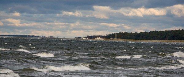 Lubmin - Ostseeküste mit Wind & Schnee nähe der Hansestadt Greifswald