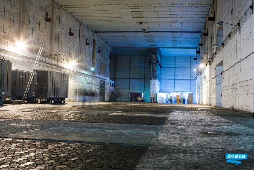 Lagerhalle im U-Boot-Bunker Valentin, Farge