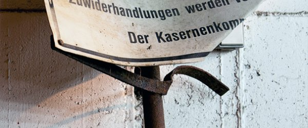 Militärischer Bereich - Unbefugtes Betreten verboten! - U-Boot-Bunker Valentin, Farge