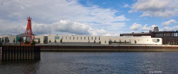Weserpromenade mit der Waterfront