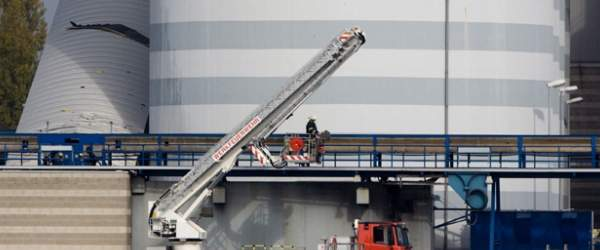 Bremer swb Kraftwerk Hastedt Steinkohlesilo-Unfall (2008-10-13)