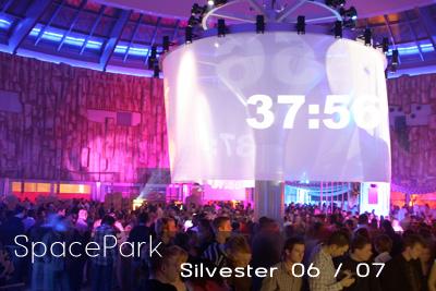 SpacePark Silvester 2006/2007