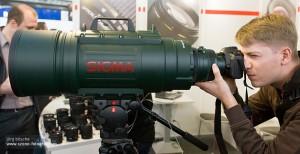 Teleobjektiv von Sigma APO 200-500mm F2.8/400-1000mm EX DG