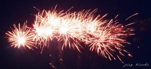 Feuerwerk 2007 in Bremen Vegesack