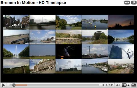 Bremen in Motion (HD Timelapse Video)