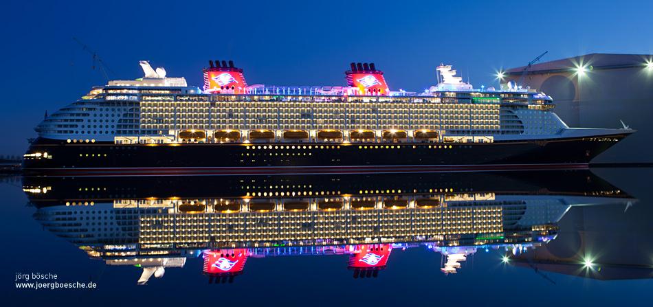 Disney Fantasy der Reederei Disney Cruise Line