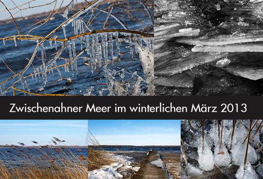 Bad Zwischenahn am Zwischenahner Meer im winterlichen Gewand